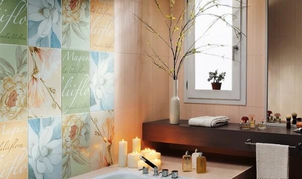 Ванная комната дизайн фото модная плитка 2017 для маленькой ванны фото