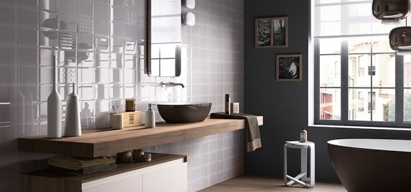 Ванная комната дизайн фото модная плитка 2018 для ванны
