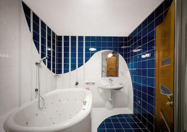 Ванная комната дизайн фото модная плитка 2017