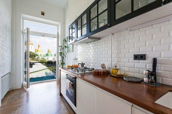 Дизайн интерьера кухни 10 кв. м фото