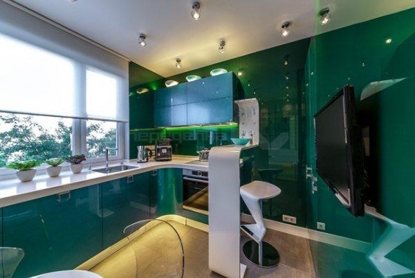 Дизайн современной кухни 10 кв. м фото