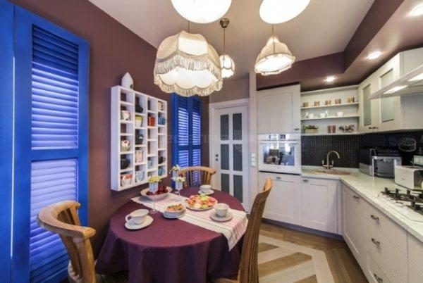 Дизайн угловой кухни 10 кв. м фото