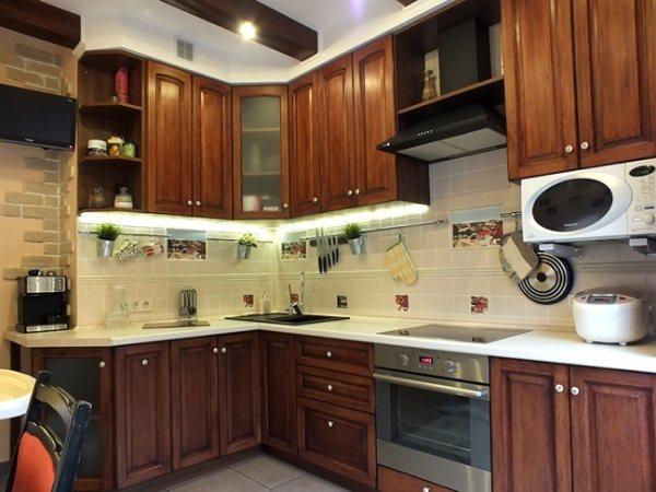 Кухни угловые 10 кв. м фото