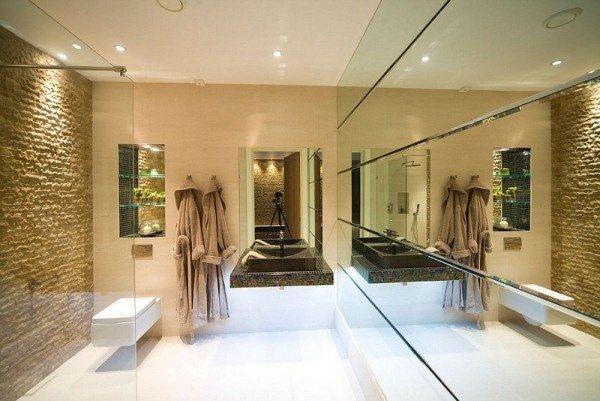 современный дизайн ванной комнаты фото 2020