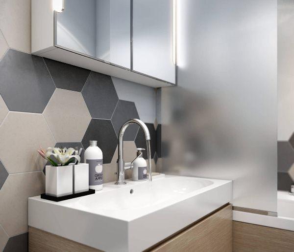 дизайн маленькой ванной фото 2019 современные идеи