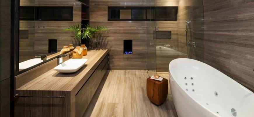 ванная комната дизайн фото модная плитка 2020 для маленькой ванны