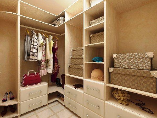 Дизайн гардеробной комнаты фото 3 кв м